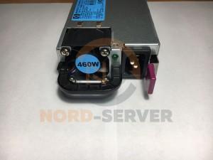 Блок питания HP 460W для G6, G7