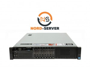 DELL PowerEdge R720 8xSFF / 2 x E5-2680 / 96GB / PERC H710p Mini 512MB / 2x750W