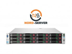 HP ProLiant DL380e Gen8 12xLFF / 2xE5-2420 / 48GB / P420 512MB / 2 x 750W