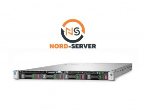 HP ProLiant DL360 Gen9 4xLFF / 2 x E5-2640 v3 / 4 x 8GB 2400T