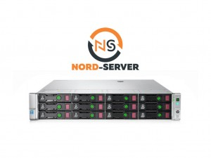 HP ProLiant DL380 Gen9 12xLFF / 2 x E5-2620 v3 / 2 x 8GB 2400T