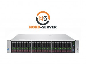 HP ProLiant DL380 Gen9 24xSFF / 2 x E5-2620 v3 / 2 x 8GB 2400T