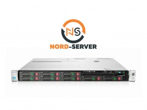 HP ProLiant DL360p Gen8 8xSFF / 2 x E5-2680 v2 / 8 x 8GB / 2 x 460W